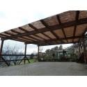 Garage con Copertura in Bamboo cm. 800x500