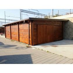 Garage in Legno cm. 10000x6000