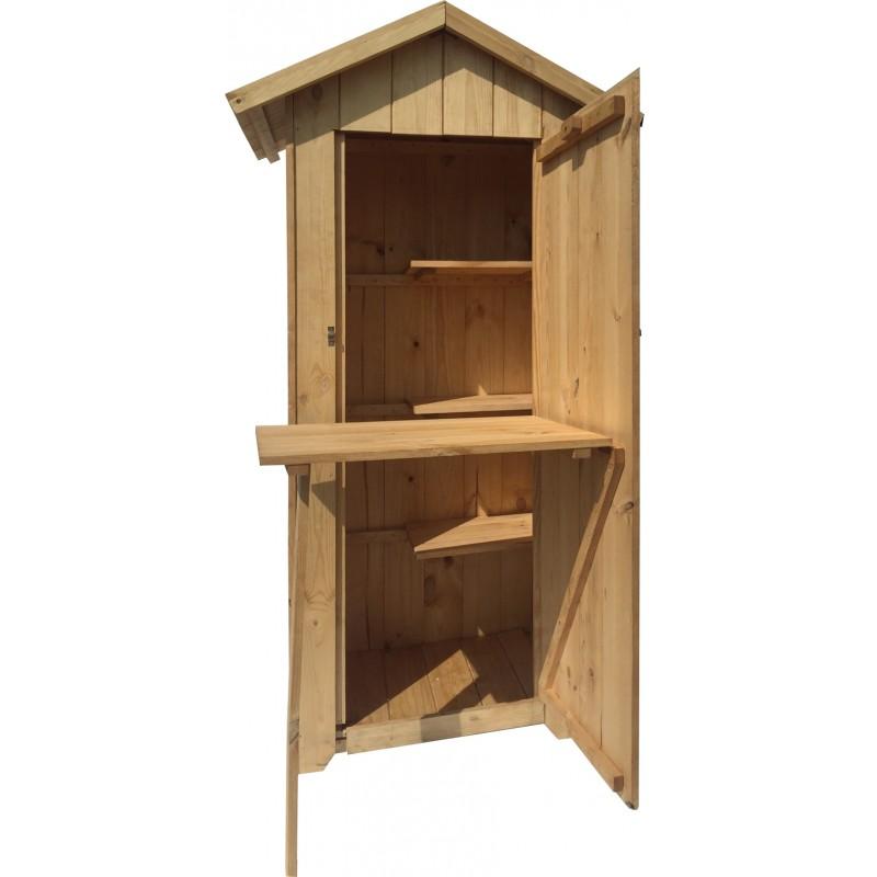 ricovero attrezzi in legno, armadio in legno