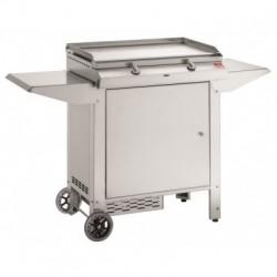 Carrello Chiuso per Barbecue Planet Moma 70 T