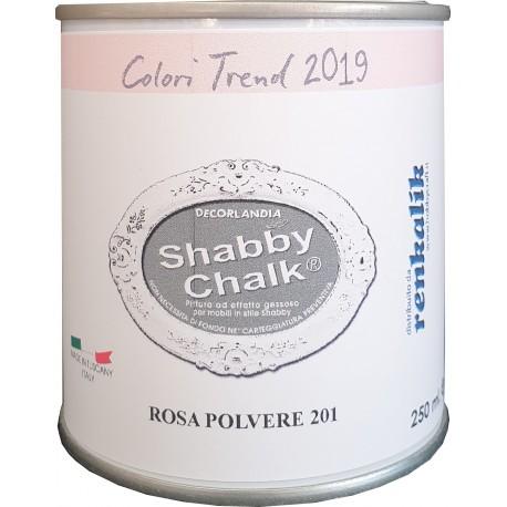 Shabby Chalk ml 250 Rosa Polvere